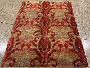 Oriental Indo Turkish Oushak rug circa 2010's 5.1' x