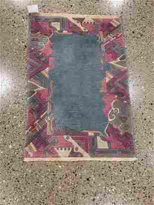 Oriental Indo Gabbeh rug circa 2000's 2.2' x 3.2'.