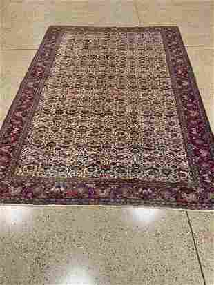 Oriental Antique Turkish Kayseri rug circa 1930's 8.8'