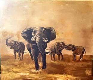 "William ""Billy"" Milligan (Ohio) oil on canvas."