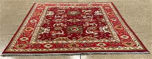 Oriental Indo Turkish Oushak rug circa 2010's 8' x