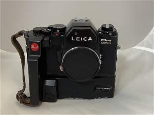 Leica camera, R3 mot with motor winder.