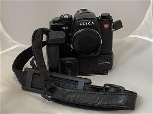 Leica camera R7. With motor winder. Working condition