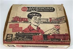 American Flyer Electric train set.The Gilbert Company.