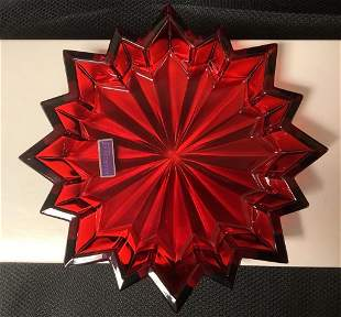 Marquise by Waterford - Star Red Tray, including