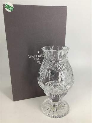 Waterford Crystal Penrose Hurricane Lamp in original