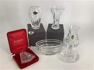 Lot of Waterford Crystal including 1997 W. S.