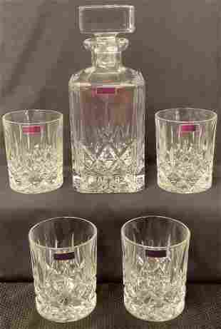 Marquis by Waterford decanter set. Comes w/ original