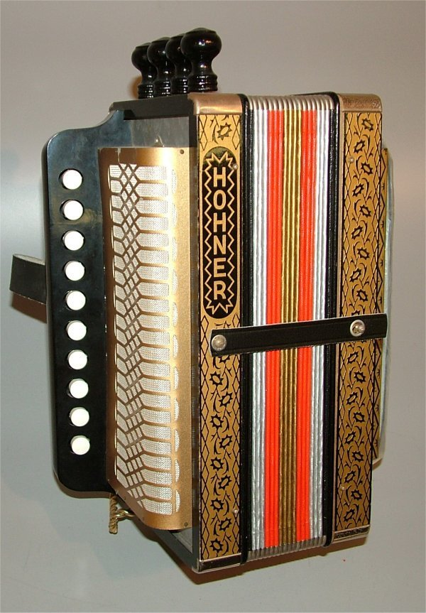 "5003: HOHNER SM ACCORDIAN 12 1/2""L"