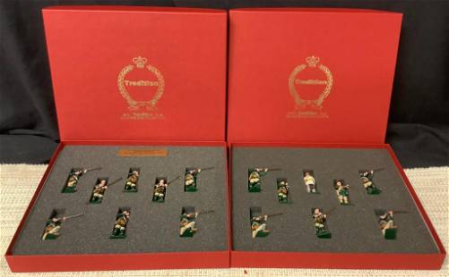 Collection of toy soldiers including Rogers'
