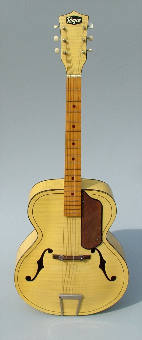 "5001: ROYCE 6 STRING GUITAR IN CASE 52""L"