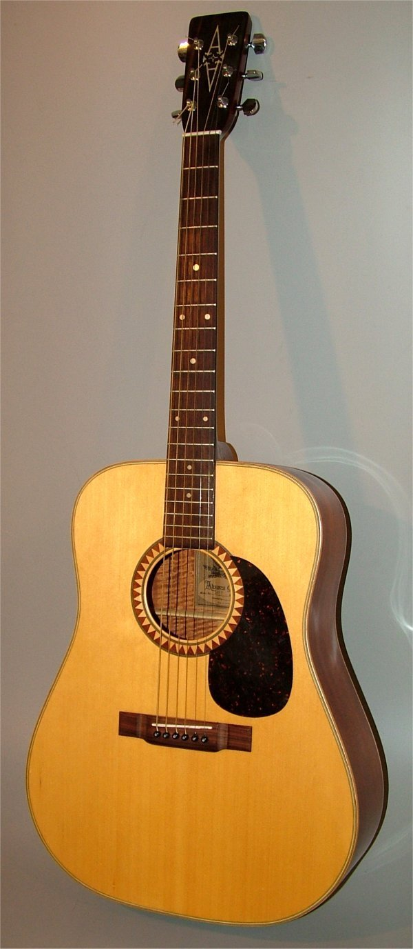 5006: ALVAREZ ACOUSTIC GUITAR MODEL 5017 SERIAL #42959