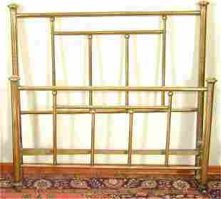 """BRASS FULL SIZE POSTER BED 51"""" H"""