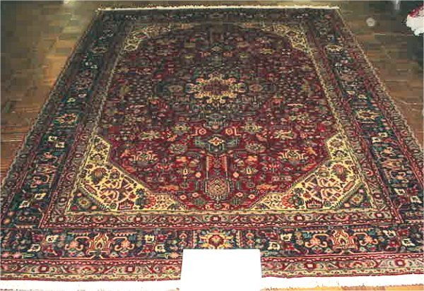 1054: FINE PERSIAN TABRIZ 6.6 X 9.9