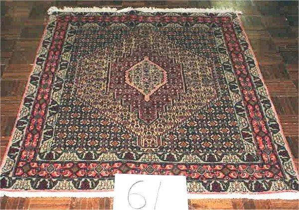 1061: FINE PERSIAN BIJAR 4 X 5.3