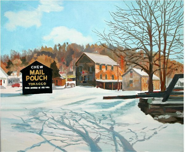 "10: CARROLL CO ""ALGONQUIN MILL"" OIL BY RICHAR"