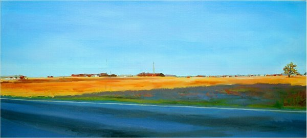 "14: CLINTON CO ""BEAUTIFUL DAY"" OIL BY RICHARD"