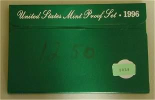 U.S. PROOF SET 1996