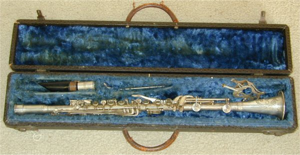 5014: B C CO CADET NICKEL PLATED CLARINET IN
