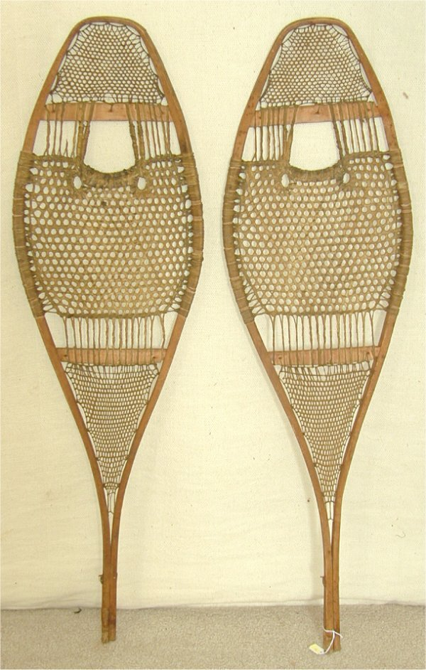 "30: PR EARLY SNOW SHOES 42 1/2"" L"