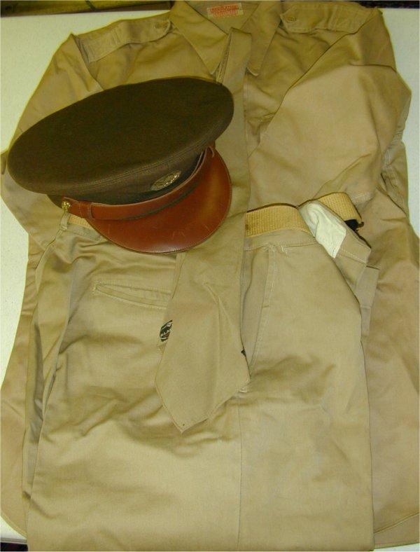 3504: WWII ARMY AIR FORCE UNIFORM - SGT CARSO