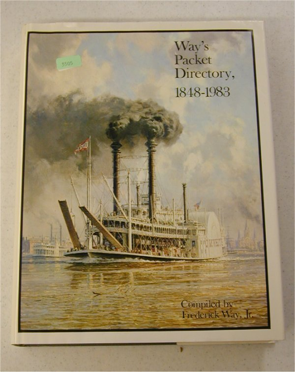 3505: BOOK - WAY'S PACKET DIRECTORY 1848-1893