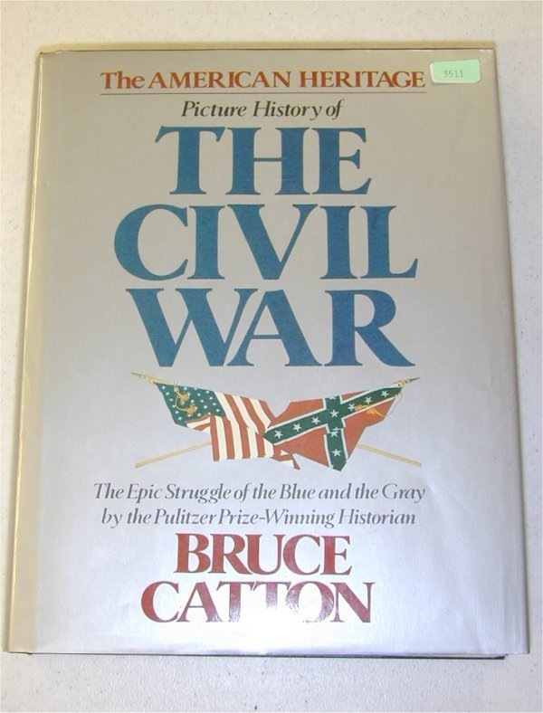 3511: BOOK - THE AMERICAN HERITAGE PICTURE HI