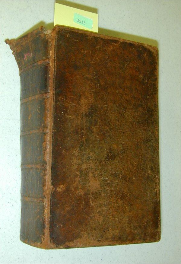 3513: LEATHER BOUND BOOK - REBAU'S RATURGERCH