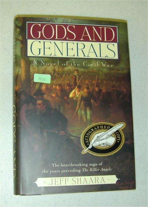 3518: BOOK - GODS & GENERALS NOVEL OF THE CIV
