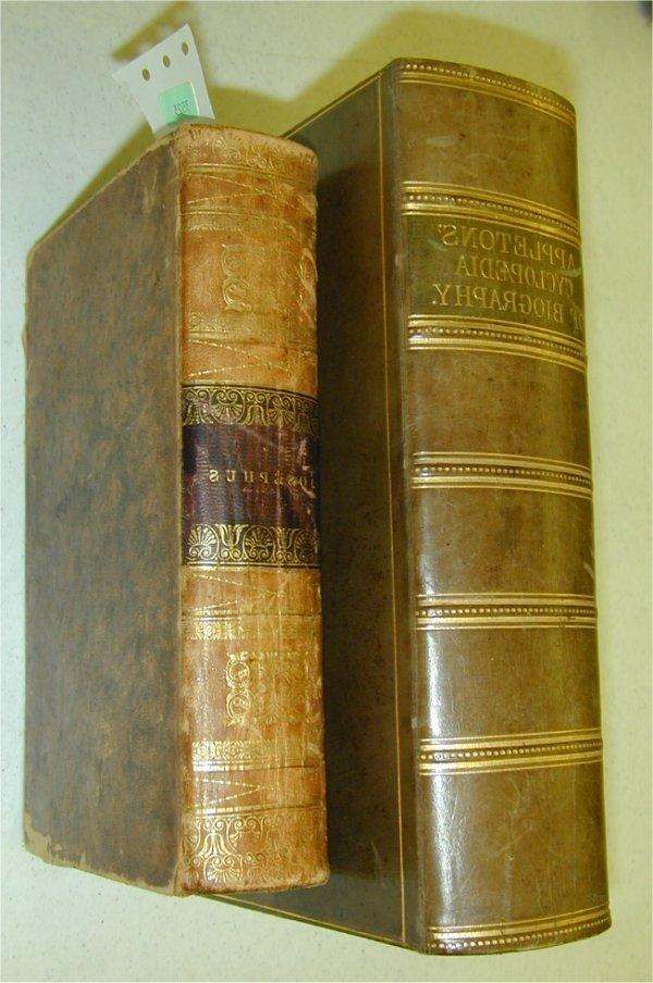 3523: BOOK - (2) BOOKS THE WORKS OF HAVIUS JO