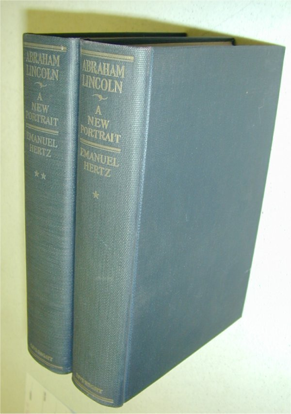 3524: (2) BOOKS - VOL 1 & 2 ABRAHAM LINCOLN A