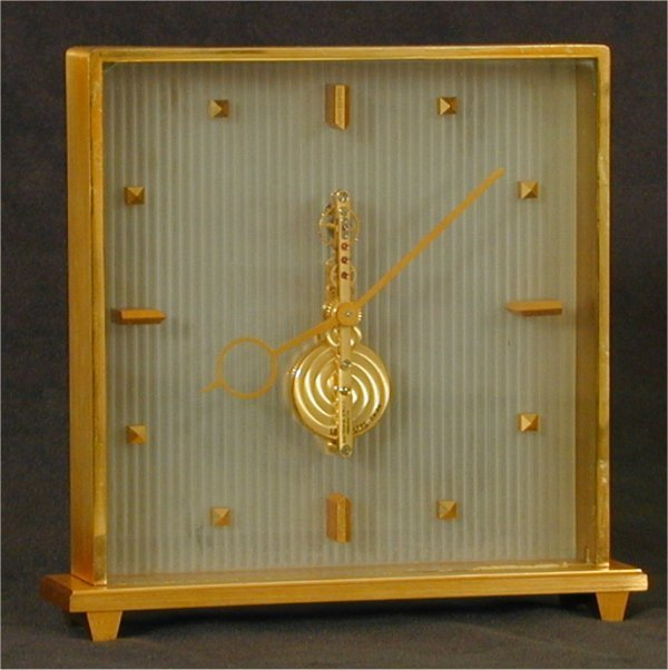 5014: L E COULTRE GOLD PLATED 16 JEWEL CONTEM