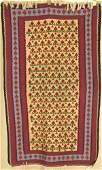 5179 ORIENTAL RUG OLD PERSIAN SENEH KELIM 3