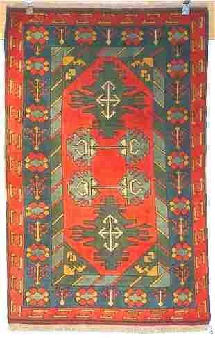 3: FINE TURKISH KONIA KAZAK 3.2 X 4.9