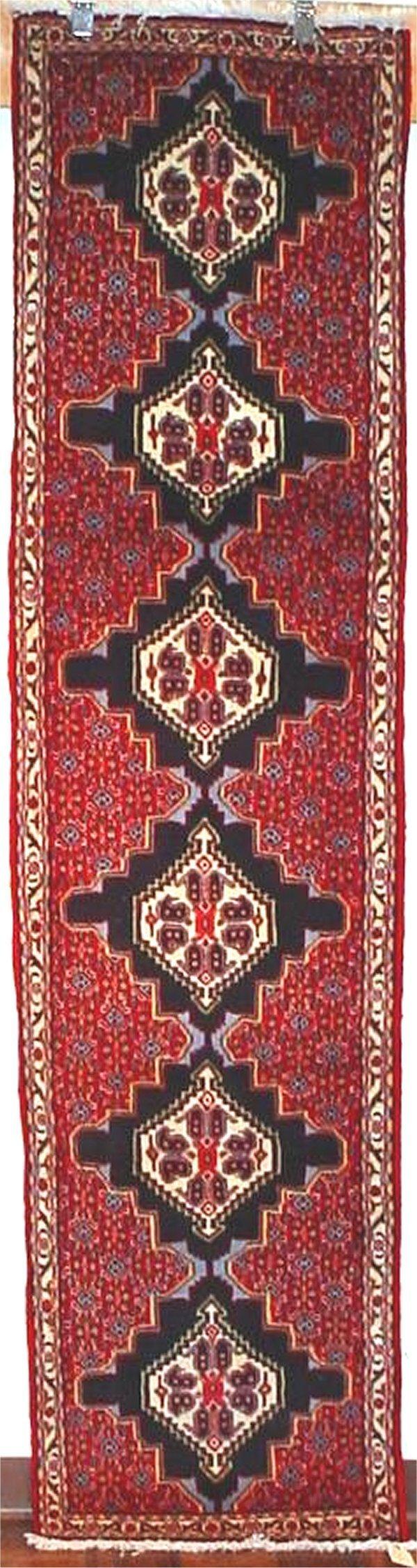 20: FINE PERSIAN BIJAR RUNNER 2 X 8.3