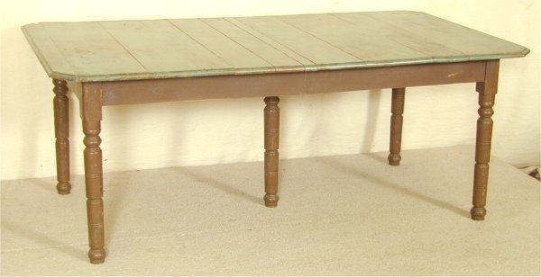 """5002: FARM TABLE, PTD 9'L X 41""""W X 28""""H"""