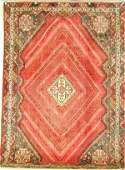 5938 ORIENTAL RUG SEMI ANTIQUE PERSIAN AFSHAR 68 X 9