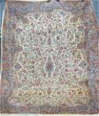 5941 ORIENTAL RUG SEMI ANTIQUE PALACE SIZE  KIRMAN