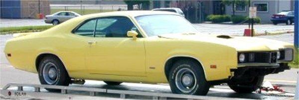 3: 1970 Mercury Cyclone with 429 engine