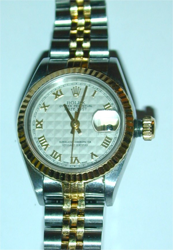 5: Rolex ladies watch Oyster Perpetual Datejust  with s