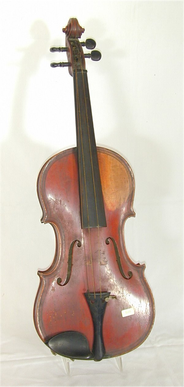 "5015: LOUIS LOWENDALL VIOLIN DATED 1887 24""L"