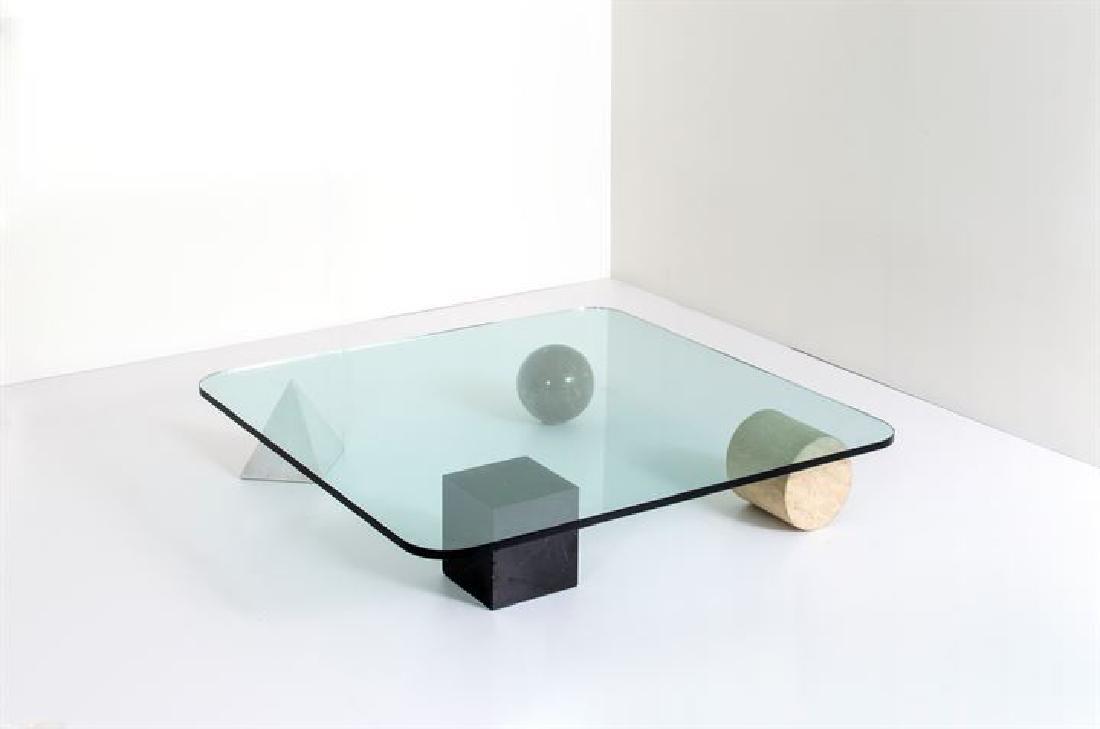 VIGNELLI LELLA E MASSIMO_x000D_ Tavolino mod. Metafora
