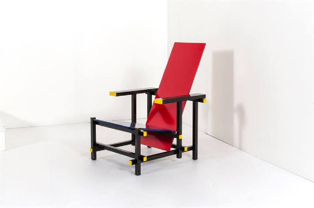 RIETVELD GERRIT THOMAS_x000D_ Red/Blue chair