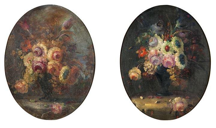 """VEZZONI PALMIRO 1908-1997 """"Vaso di fiori"""" """"Vaso di"""