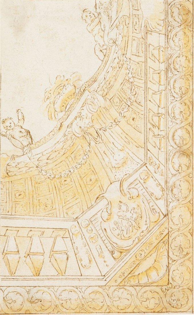 """ANSALDO GIOVANNI ANDREA (ambito di) 1584-1638 """"Studio"""