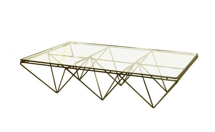 PIVA PAOLO Alanda Tavolino con struttura in tondino