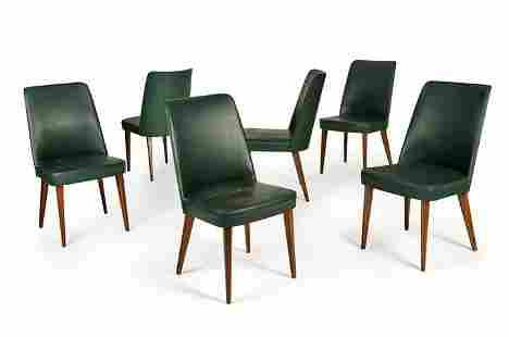 BEGA MELCHIORRE Sei sedie in legno di faggio con