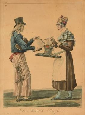 ANTONINE CHARLES HORACE VERNET (American 1758-1836) AN
