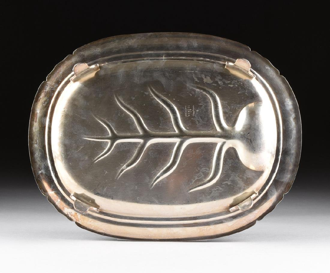 """A REED & BARTON """"MAYFLOWER"""" PATTERN SILVER PLATED - 5"""