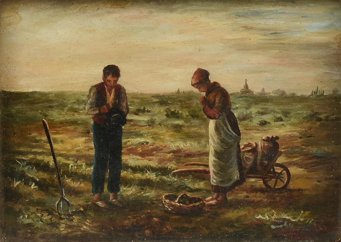 after JEAN-FRANCOIS MILLET (French 1814-1875) A